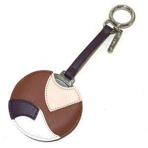 FENDI 150243501 Mirror Cabas Bag Charm Key ring Ke